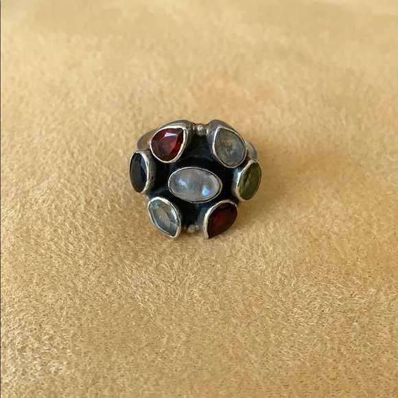 Jewelry - Sterling Silver Gemstone Ring